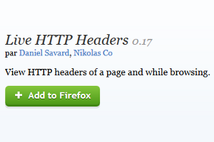 Live HTTP Headers